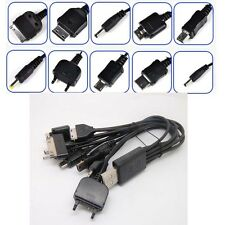 Universal 10 in 1 Multi-Function Cell Phone Game USB Charger Cable New