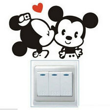 FD841 Cartoon Mouse Light Switch Funny Wall Decal Vinyl Stickers DIY ~1pc~ ✿