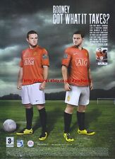 "Fifa 08 ""Rooney Got What It Takes?"" 2007 Magazine Advert #1300"