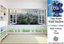 Star Wars wall sticker The Force Awakens (2015) Children's Bedroom large DECAL.