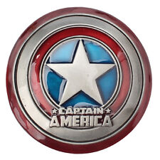 New Captain America Shield Metal Belt Buckle Marvel Avengers Superhero Men Movie