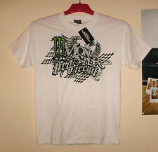 Pro Circuit T-Shirt Monster Energy Cross NEU Zibra M KX-F KTM CR-F Kawasaki Weiß