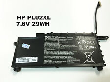 Genuine original 7.2V 29wh PL02XL battery for hp PAVILION 11-N X360 751875-001