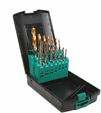 METRIC TAP AND DRILL SET SPIRAL POINT NEW OSBORN CLARKSON EUROPA