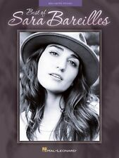 Best of Sara Bareilles Sheet Music Big Note Book NEW 000121673