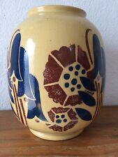 superbe et imposant  vase boule   BADONVILLER   vintage