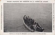 B80700 brindisi cita de bari boat cadaavre et recapes  albania  front/back image