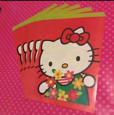 Vintage 1993 Sanrio Hello Kitty Pokopons Diary Double Sided 5pc Gift Bag