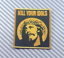 KILL YOUR IDOLS Black Axl Guns N' Roses ROCK SKA CAP IRON PATCH SEW EMBROIDERED