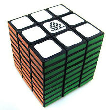 US WitEden 3x3x9 Puzzle Fully Functional Cube Speed Twist Puzzle Black Game Gift