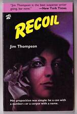 RECOIL by Jim Thompson - 1984 Black Lizard paperback - Like New!