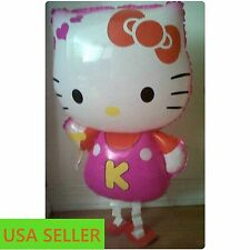 "HELLO  KITTY Walking Balloon Large, 64*43 cm,28""*18"", Party, gift Pink"