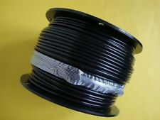"""BLACK Vinyl Coated Wire Rope Cable,1/8""""- 3/16"""", 7x19, 250 ft reel"""