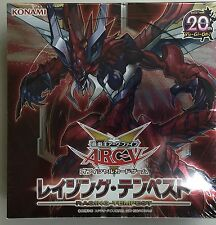 Yugioh Japanese RATE-JP Raging Tempest Booster Factory Sealed Booster