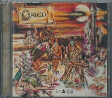 OMEN CD/DVD Battle Cry, Orig.Metal Blade 2003-WARLORD-LIEGE LORD-EXCITER-HELSTAR