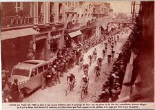 1938  --  PASSAGE DU TOUR DE FRANCE A VIRE   3K793