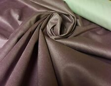 BEAUTIFUL SUEDE BLACK OUT FABRIC 1.2 METRES