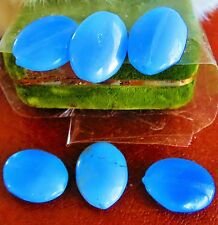 Antique Czech blue flas with glow glass lot beads for crafts  old  ce