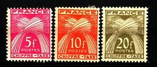 FRANCIA - FRANCE - 1943/1946 - Type Gerbes. Légende FRANCE CHIFFRE - TAXE.