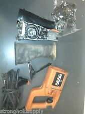 USED 590989001 GEAR CASE CVR FOR RIDGID R3001 SAW -ENTIRE PICTURE NOT FOR SALE