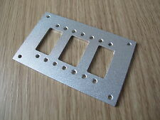 Custom made adjustable Fifth wheel coupler Mounting Plate for Tamiya 1/14 Semi