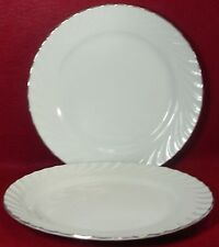 NORLEANS china ESTATE pattern Set of Two (2) Dinner Plates @ 10-1/2""