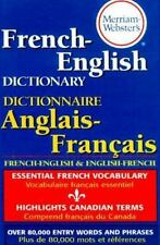 Merriam-Webster's French-English Dictionary (2000, Paperback, Revised) 5985