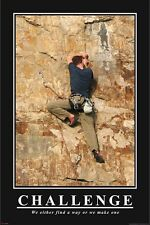 HOW I MET YOUR MOTHER ~ CHALLENGE CLIMBING 24x36 POSTER Find Way Barney Stinson