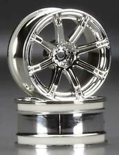 HPI Racing Work Emotion XC8 Wheels 26mm 6mm Offset Chrome (2) HPI3301