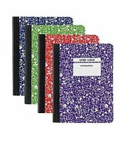 Staples Assorted Colors Composition Book 9 in x 7 in (4 pack)