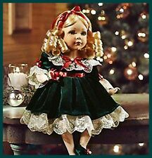 little gillian doll darling all dressed up 4 the holidays but no where to go nw