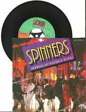 "Spinners, Working my way back to you, VG/VG 7"" Single 0447"