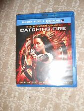 The Hunger Games: Catching Fire (Blu-ray Disc, 2014, 2-Disc Set)