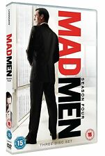Mad Men: AMC Series - The Complete Season 4 Collection 3 Disc Set New DVD