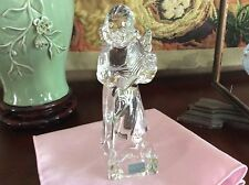 Mikasa Herald Collection Angelic Angel Harp Germany Full Lead Crystal Glass EUC
