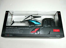 PROPEL R/C 3.5 CH GRYO NFORCE 2.0 HELICOPTER, 2 SPEED SETTING, NIB, 12'' LONG