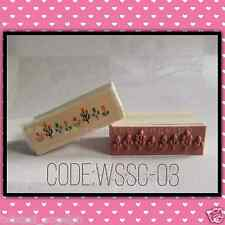 Stamp/Wooden Stamp/Wood Mounted Rubber Stamp [Code: WSSC-03]
