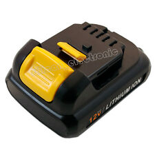 New 12V 2.0Ah Max Lithium-Ion Battery For Dewalt DCD710 DCF610 DCF813 DCF815