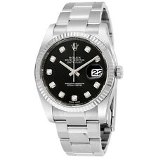 Rolex Oyster Perpetual 36 mm Black Dial Stainless Steel Rolex Oyster Automatic