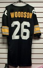 Rod Woodson jersey Vintage Pittsburgh Steelers sz 48 XL old school original 90's
