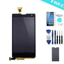 Full LCD display+Touch screen digitizer For Huawei Honor 3C G740 Black +Tools