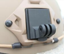 Aluminum Fixed Helmet Mount for Camera Gopro Hero 2 3 3+ NVG Mount Base F06678