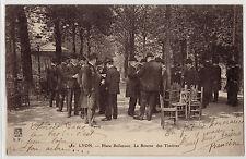 CPA - 69 - LYON - Place Bellecour. La Bourse aux timbres.