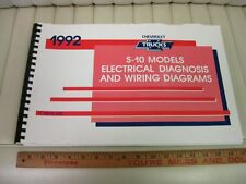 1992 Chevrolet S-10 Truck Electrical / Wiring Diagnosis Manual
