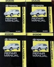 2006 TOYOTA HIGHLANDER Service Shop Repair Workshop Manual Set BRAND NEW