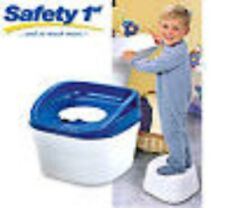 New Safety First 3 In 1 Potty Toilet Trainer  Step, Stool Infant Toddlers