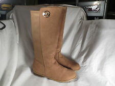 MICHAEL KORS EMMA LILY GIRLS SUEDE CAMEL BOOTS YOUTH SIZE 5