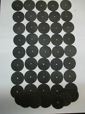 "50- REINFORCED 1-1/2"" 1/8""-HOLE CUT- OFF WHEELS FITS DREMEL WHOLESALE LOT NEW"