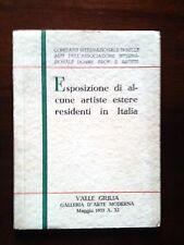 Esposizione di artiste estere_arte femminile_Pogliani_E. Chaplin_femminismo