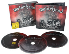 MOTORHEAD 2 CD/DVD Boxset The Wörld Is Ours Vol.1-IRON MAIDEN-AC/DC-METALLICA